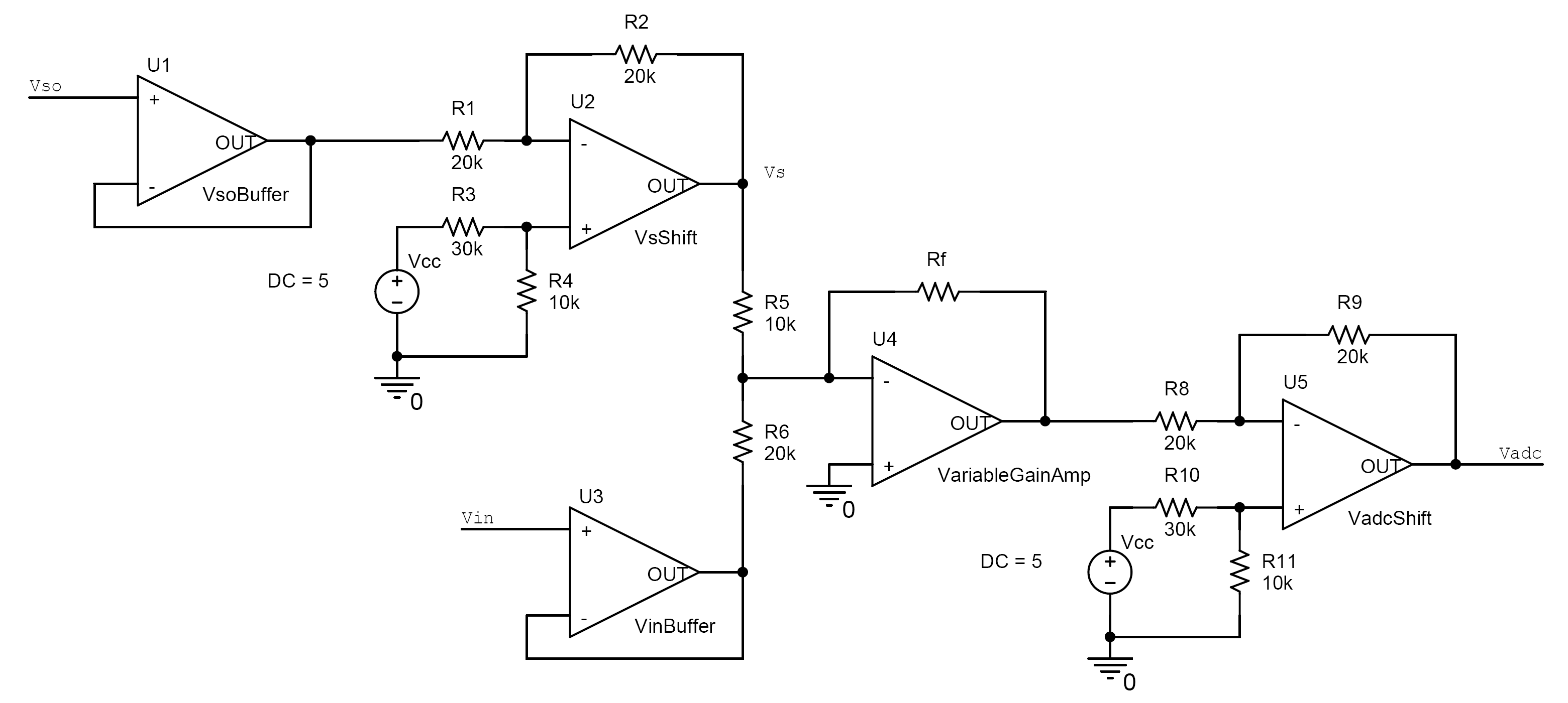 Yi Yao Oscilloscope The Cmos Logic Probe Circuit Amplifiercircuit Diagram Vertical Shifter And Amplifier