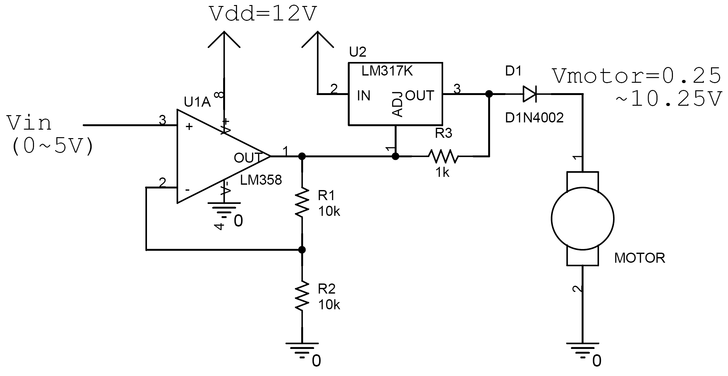 Simple Dc Motor Control Circuit Diagram Brushless Wiring Yi Yao Controller And Tachometer